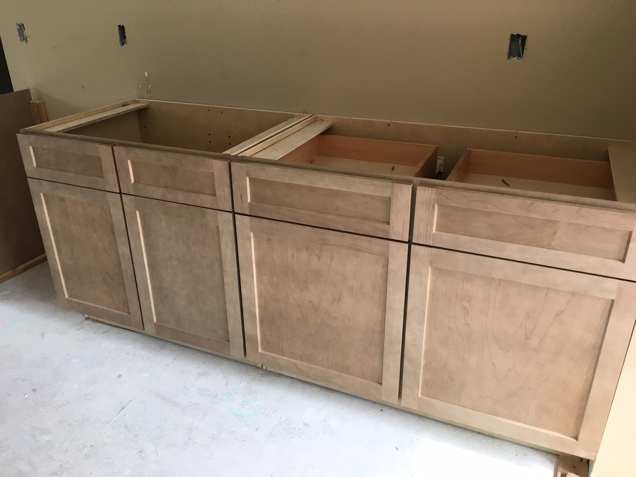 Cabinets Installed Throughout The House - Our New ...